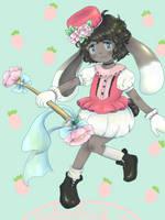 [Art trade] Magical girl Cocoa by osakana-aur