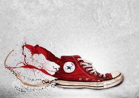 Converse splash (assignment) by Pozzization