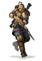33rd Konig Imperial Guard by warhammer40kcampaign