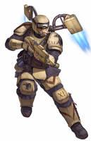 Harakoni warhawks Imperial Guard by warhammer40kcampaign