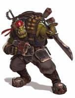 Blood Axes Ork Kommando by warhammer40kcampaign