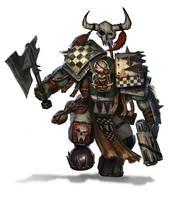 Goff Ork Nobz by warhammer40kcampaign