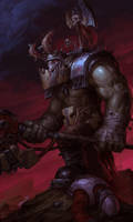Ork Nobz by warhammer40kcampaign