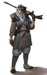 Imperial Guard Tallarn Desert rider by warhammer40kcampaign