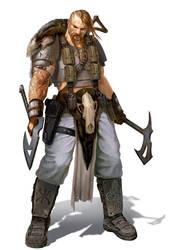 Nordian Berserker Imperial Guard by warhammer40kcampaign