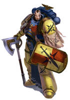 Space Marines Harbinger by warhammer40kcampaign