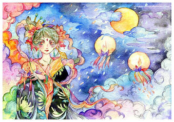 full moon by Lovepeace-S