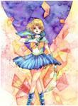 Commission: SailorUranus Tenoh Haruka by Lovepeace-S