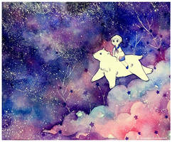 on milky way by Lovepeace-S