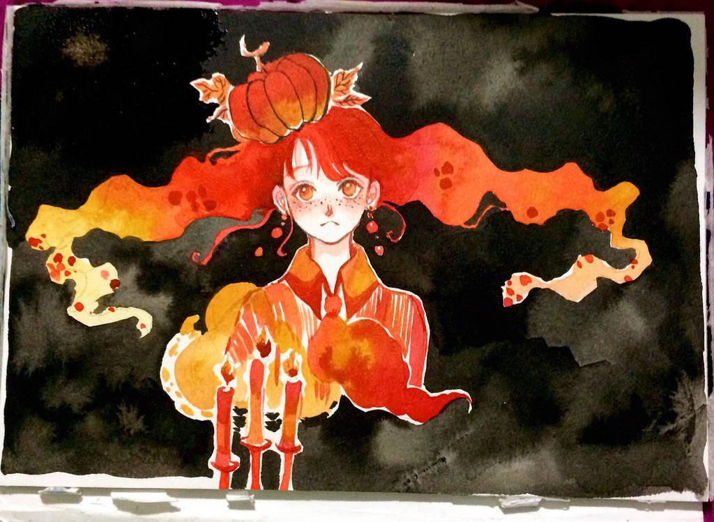 miss pumpkin by Lovepeace-S
