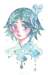 Phosphophyllite by Lovepeace-S