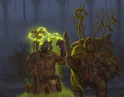 Imperial orks Weirdboy  by a20t43c