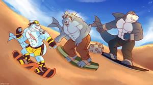 SandSharks by brawl9977