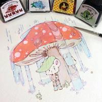Chance Encounter by Renga-ART