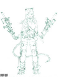 Allanys Lineart by amaury2502