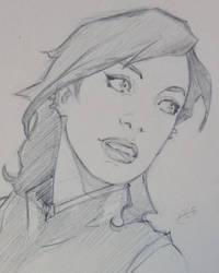 Fast sketch - Reagan by Peppysloth
