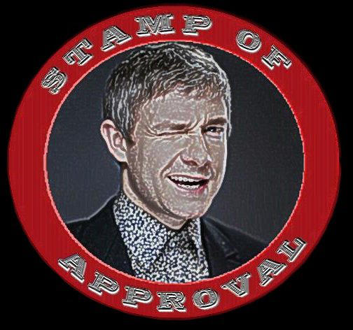 Martin Freeman's Stamp of Approval ~BADASS ED.~ by Juliapopstar