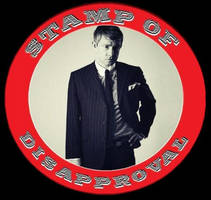 Martin Freeman's Stamp of Disapproval ~BADASS ED.~ by Juliapopstar