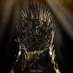 The Iron Throne by Pleblu