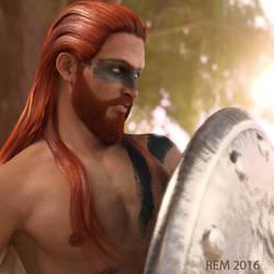 Warrior by Pleblu