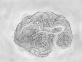 Venom Sketch by TitanDraugen