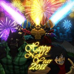 Happy New Year (2017) by TitanDraugen