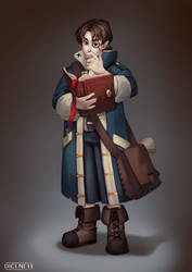 Mortimer - DnD Character commission by Dicenete