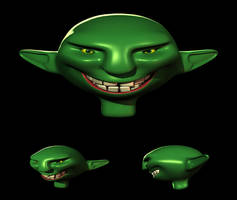 Goblin - Quick Model by aquietfrog