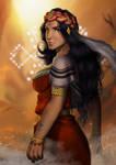 The Berber Wonder Woman by 6Yami6Maru6