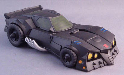 Transformers Batman Batmobile by Shinobitron