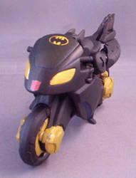 Transformers Batman BatBike by Shinobitron
