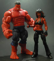 Red She hulk by Shinobitron