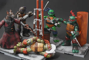 TMNT Sewer Chillin by Shinobitron