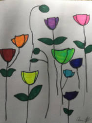 Rainbow opium  by littlemissscarface