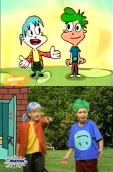 Henry And June Cartoon and Real Life (Kablam!) by dlee1293847