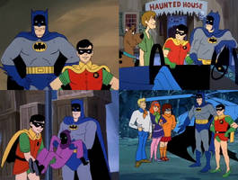 Scooby Doo - Batman and Robin by dlee1293847
