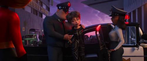 Incredibles 2 - Evelyn Deavor Arrested Scene by dlee1293847