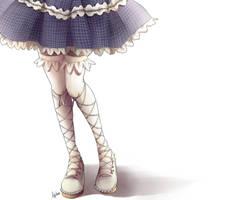 Miwako legs by monnw