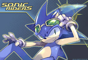 SONIC Riders by sorata-s