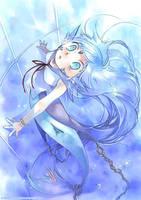 Mermaid of aquarium by sorata-s