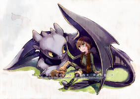 How To Train Your Dragon by sorata-s