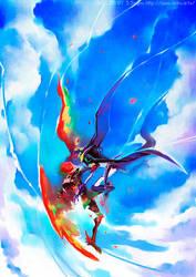 an air battle by sorata-s