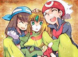 HOUEN trio by sorata-s