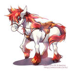 Fire horse by sorata-s