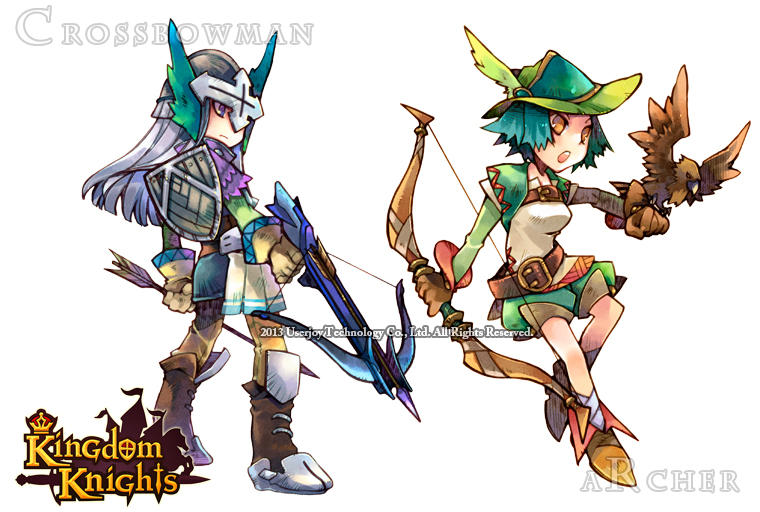 Crossebowman and Archer by sorata-s
