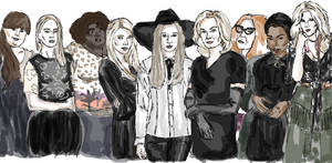 American Horror Story Coven by ChloEcREm