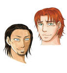 Banquo and Colin by Eninaj27