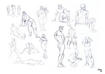 Life Drawing May 2011 by theICB