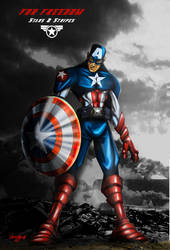 Captain America by theICB