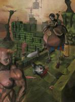 duels of skeletons by dariusz
